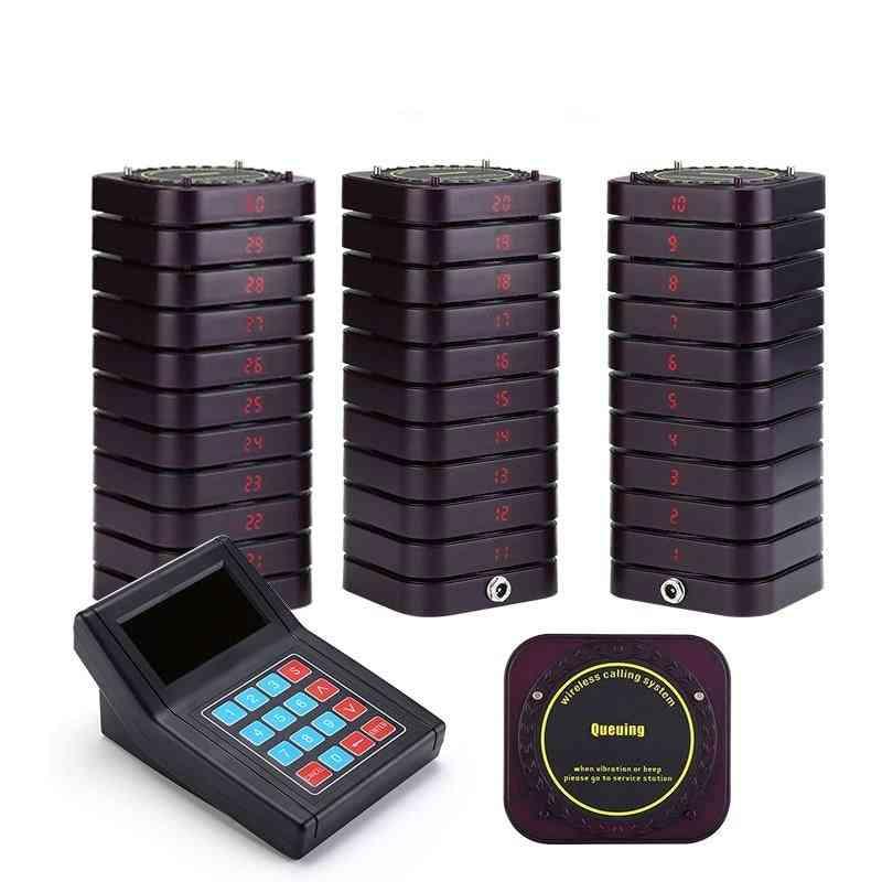 Wireless Channel Calling Keypad For Restaurant