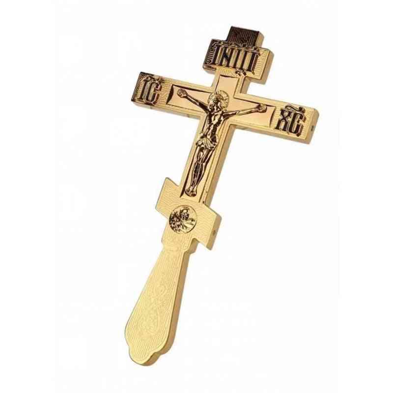 Jesus Orthodox- Hand Church Utensils, Catholic Cross