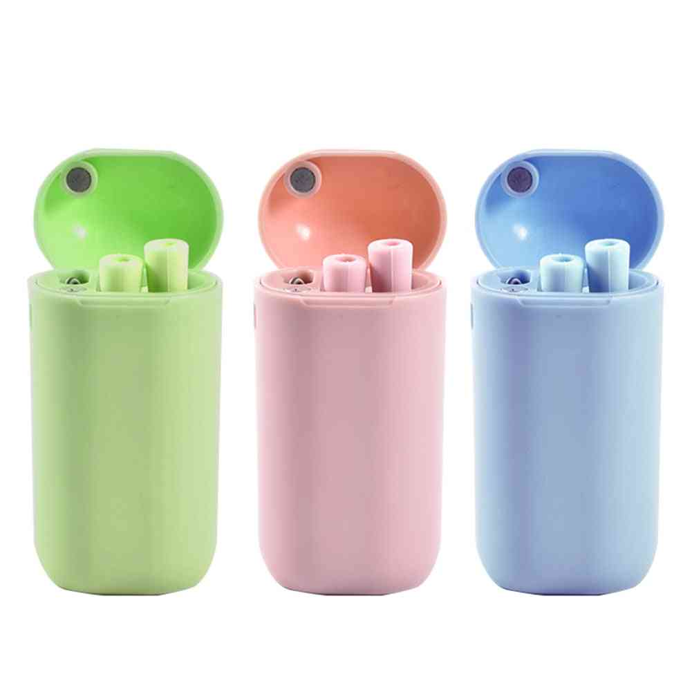Silicone Collapsible Straw, Portable Reusable, Drinking Straws With Cleaning Brush