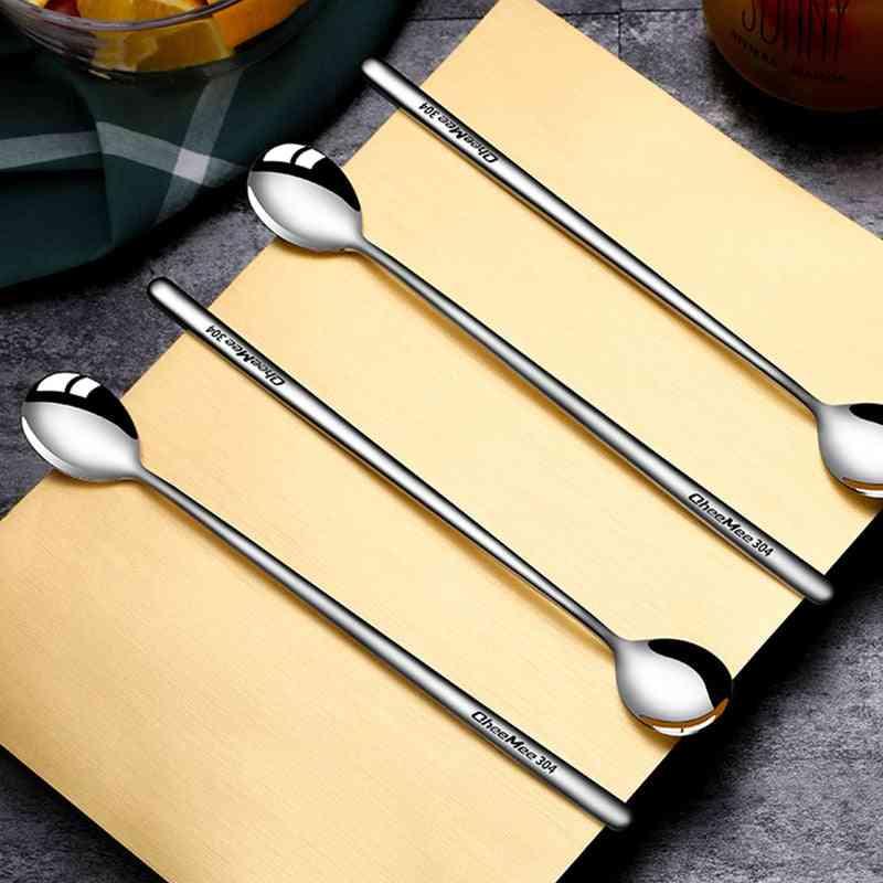 Stainless Steel- Dinnerware Dessert, Coffee, Ice Cream Spoons