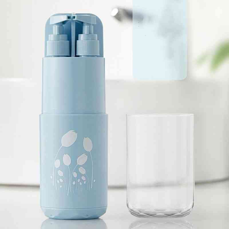 Portable Toiletries Partition Storage Cup, Travel Wash Accessories