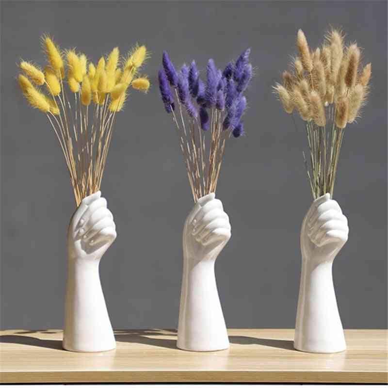 Nordic Style A Hand Vase Flower