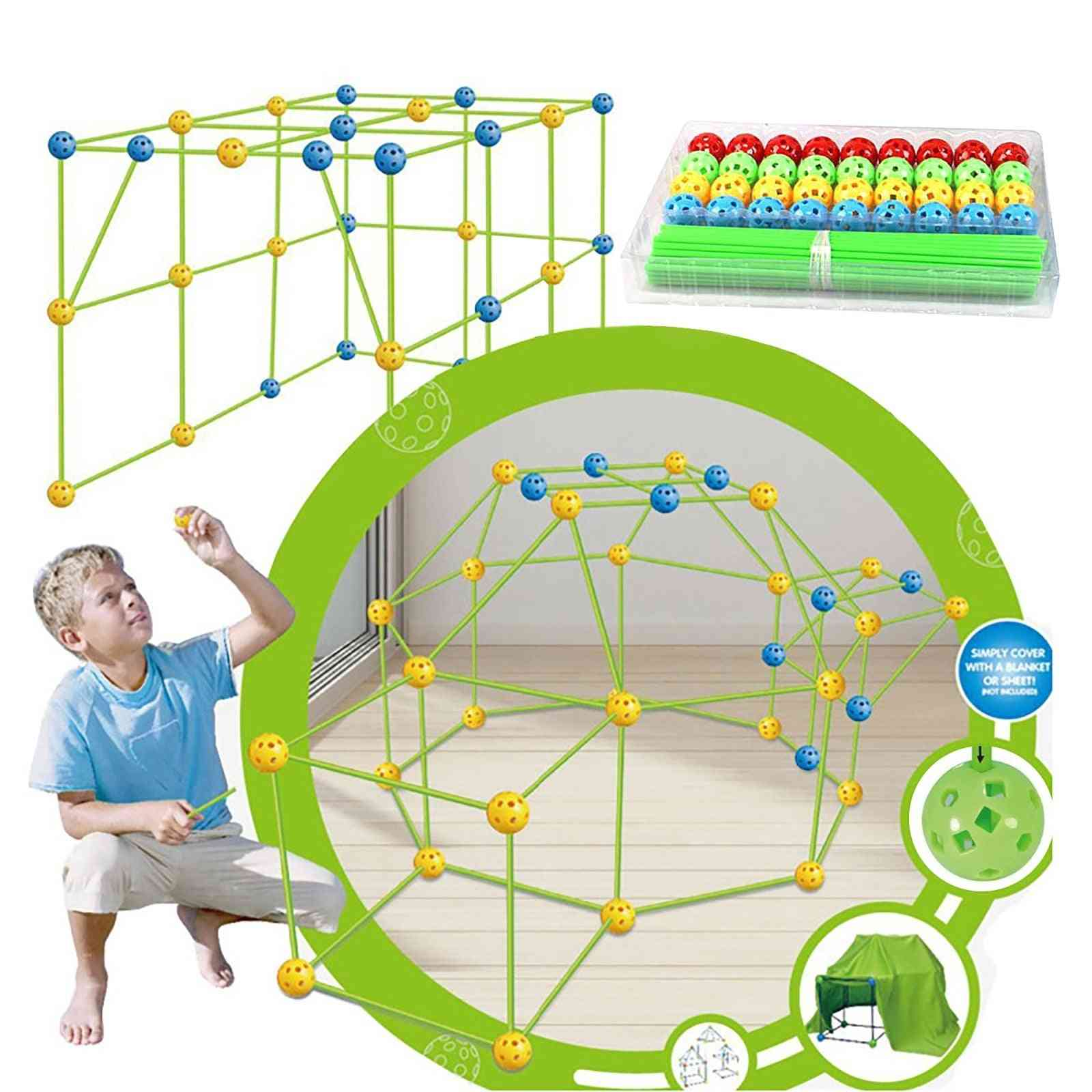 Outdoor Tent Building, Educational Kits For And