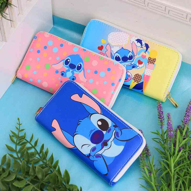 Disney Cartoon, Coin Stitch, Lovely Wallet Card Holder, Clutch Bag For