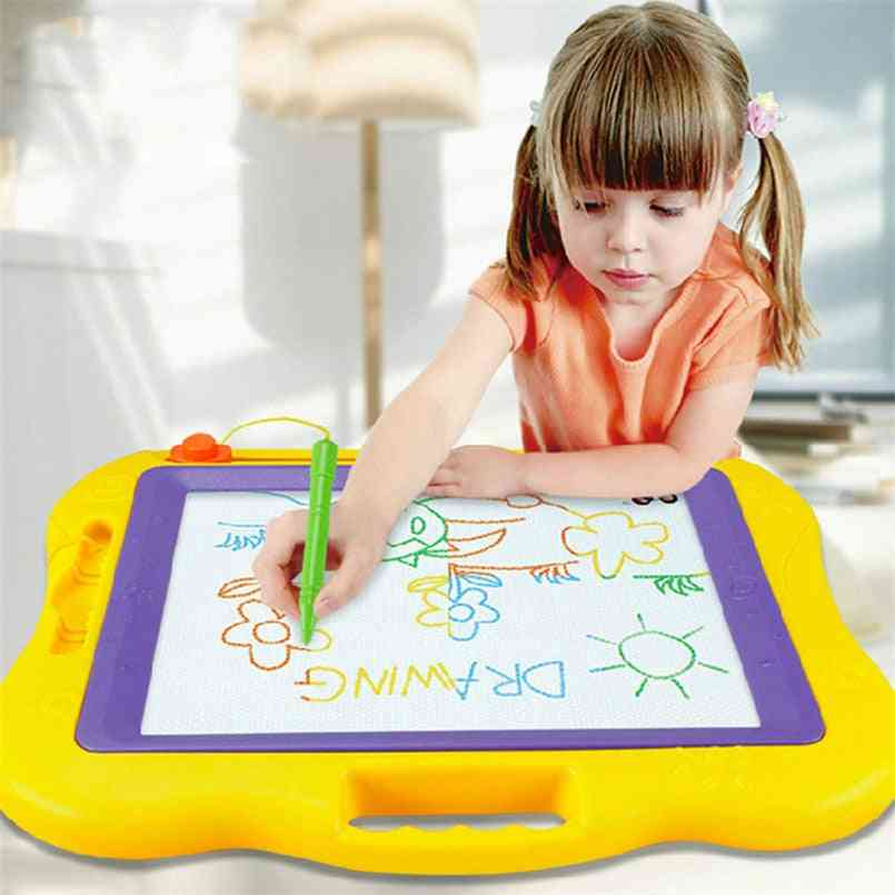 Magnetic Drawing Board, Large Magic Painting With Magic Pen Toy