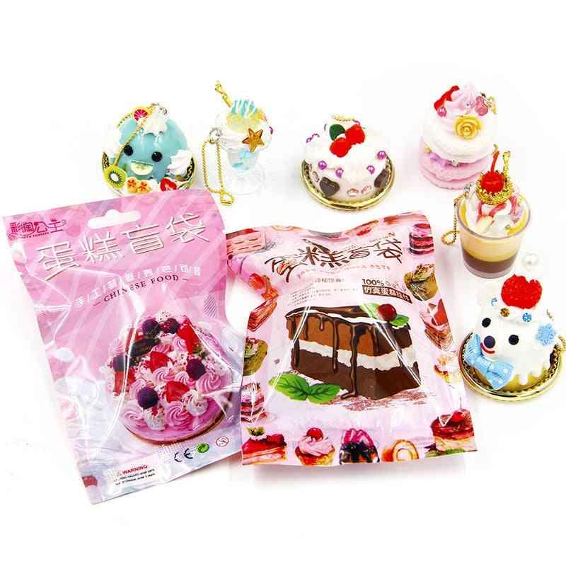 Lucky Slime- Cake Model Craft, Blind Bag For (random 1pc)