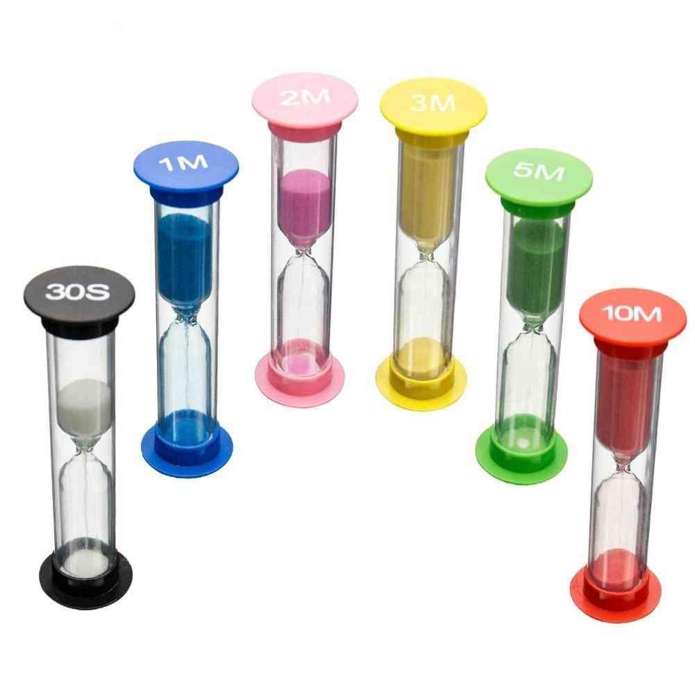Classroom, Game Sand-clock Timer Montessori, Hourglass Sandglass