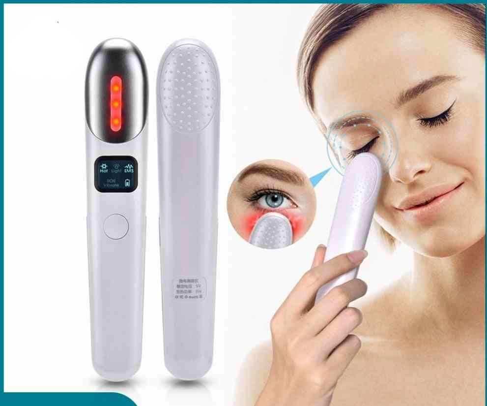 Anti-aging Eyes Massage, Red Light Therapy, Wrinkles Removal, Dark Circle