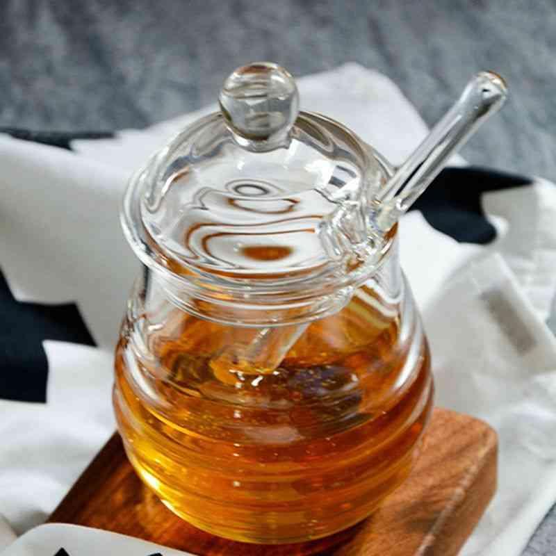 Transparent Honey Jar Glass (clear)