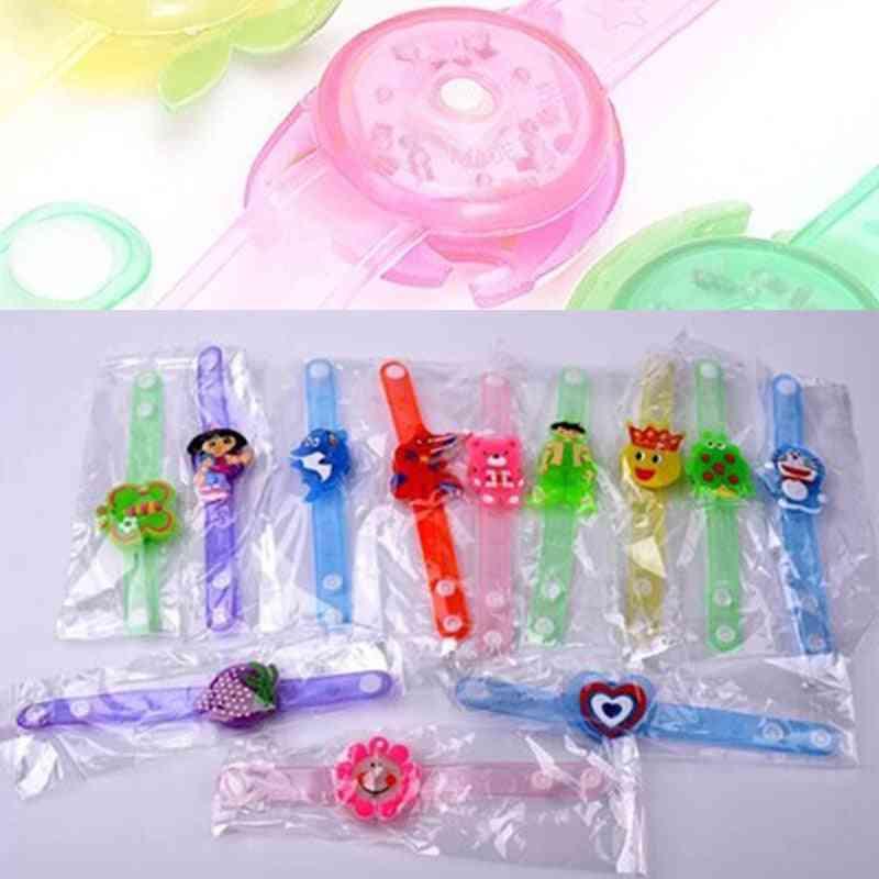 Cute Watch Wrist Strap Band With Luminous Led Lights
