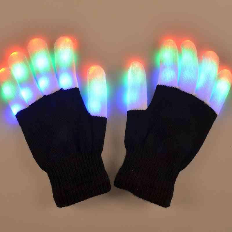 Cool Rave Flashing Led Gloves
