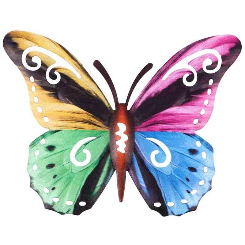 Iron Art Wall Decoration, Hanging Butterflies