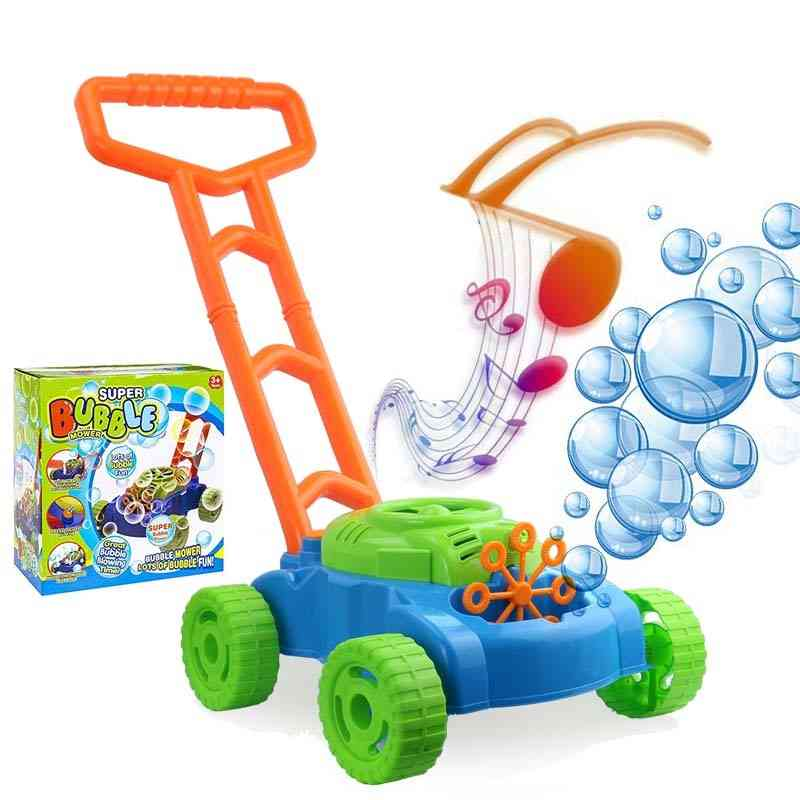 Electronic's Hand Push Bubble Car Toy