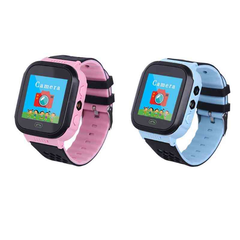 Touch Screen- Lbs Positioning, Remote Monitoring Smartwatch