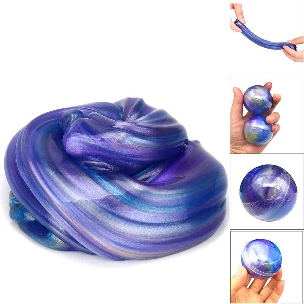 Colorful- Crystal Ball, Mud Egg, Soft Slime Scented, Stress Relief, Sludge