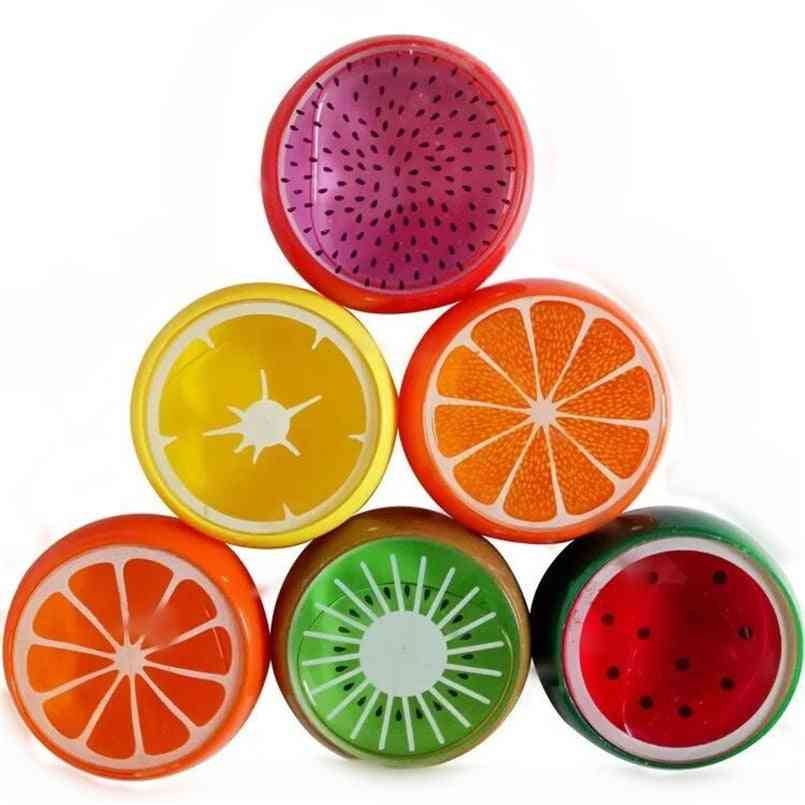 1pcs- Colorful Fruit Crystal, Mud Fluffy Slime, Magnetic Polymer Clay, Anti-stress