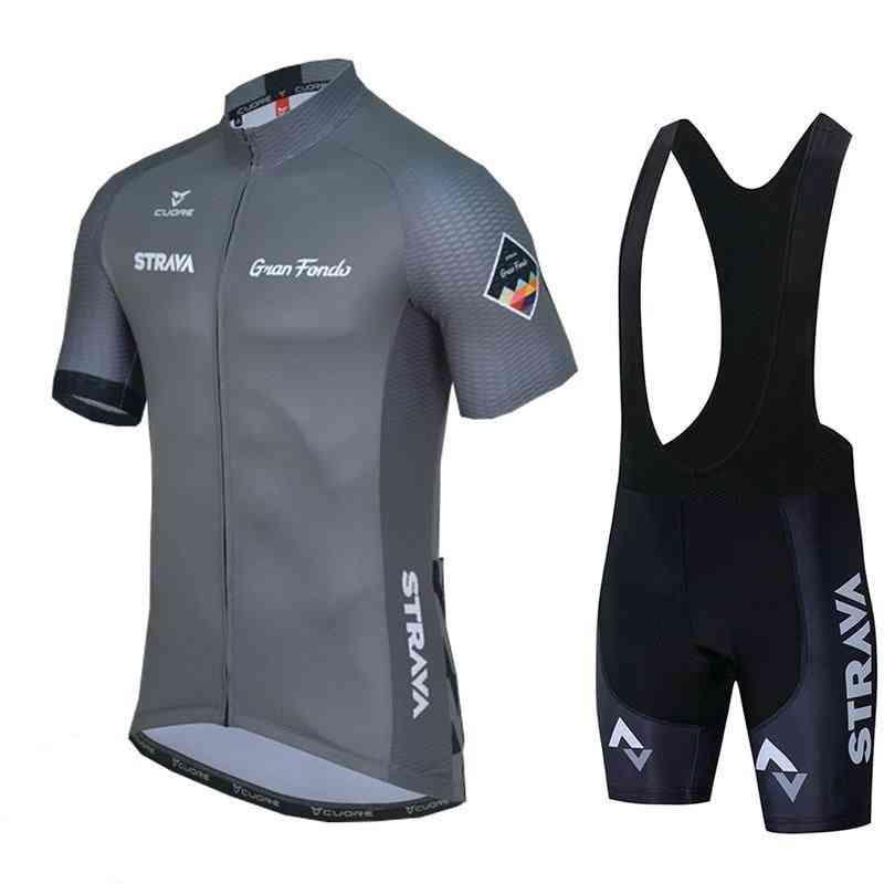 Summer- Racing Sport Bicycle, Short & Jersey Set Set-1
