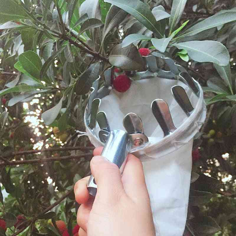 Portable Fruits Catcher For Harvest, Picking Citrus Pear Collector