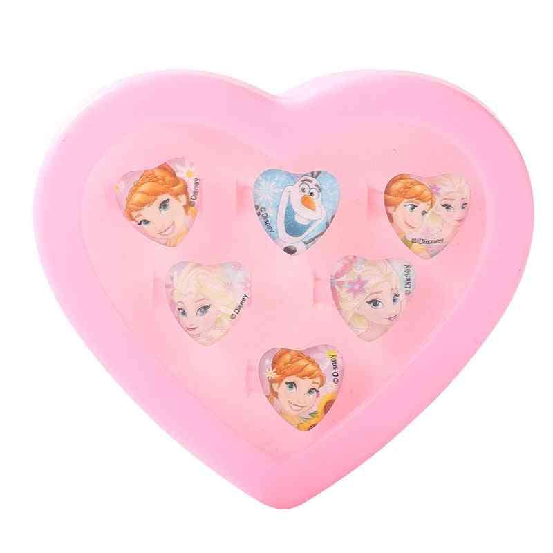 Cartoon Anna Elsa, Sofia Princess, Disney Frozen, Makeup Set Toy