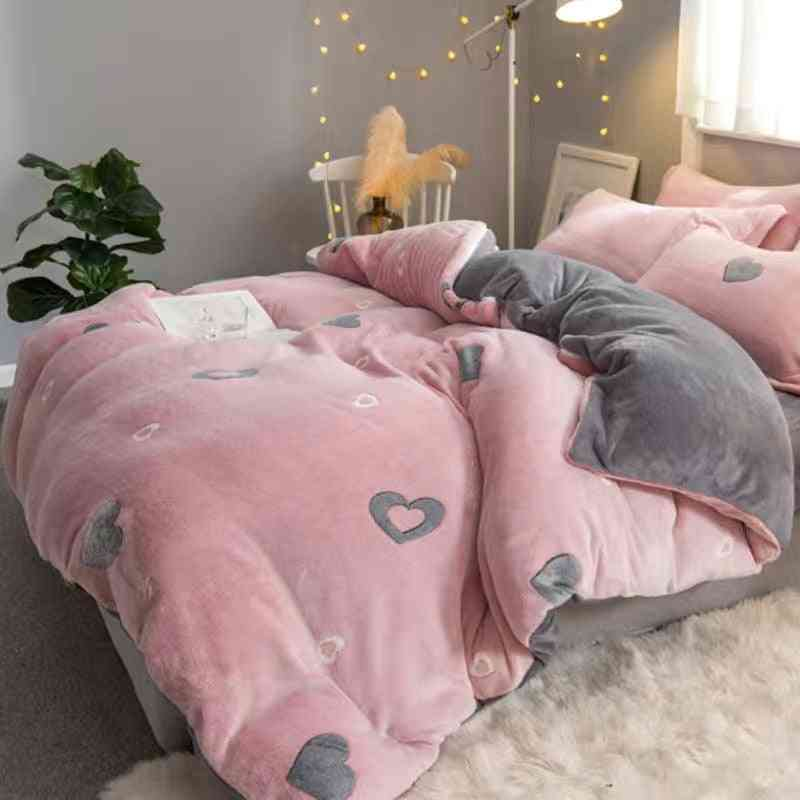 Winter- Bed Sheet & Pillow Case Cover