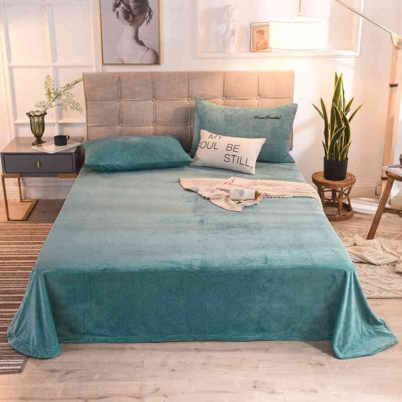 Soft Flannel- Bed Sheet & Pillowcase Cover