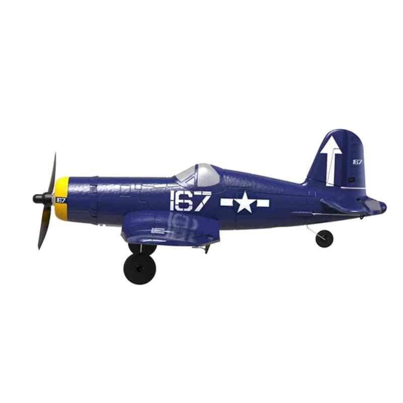 F4u 761-8 Wingspan Epp, One-key Aerobic Airplane With Remote Control