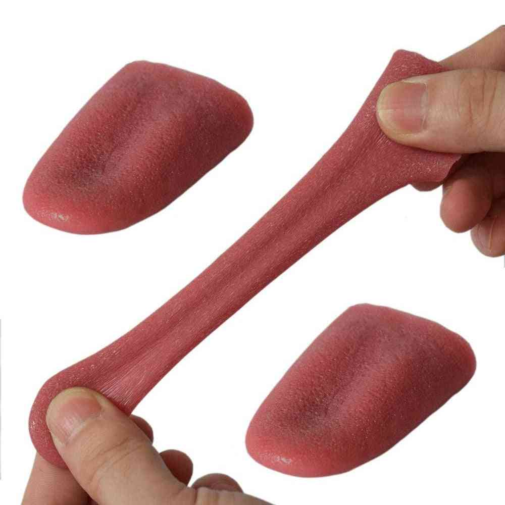 Disgusting Tongue- Practical Joke, Gadgets, Stress Reliever Toy  (a)