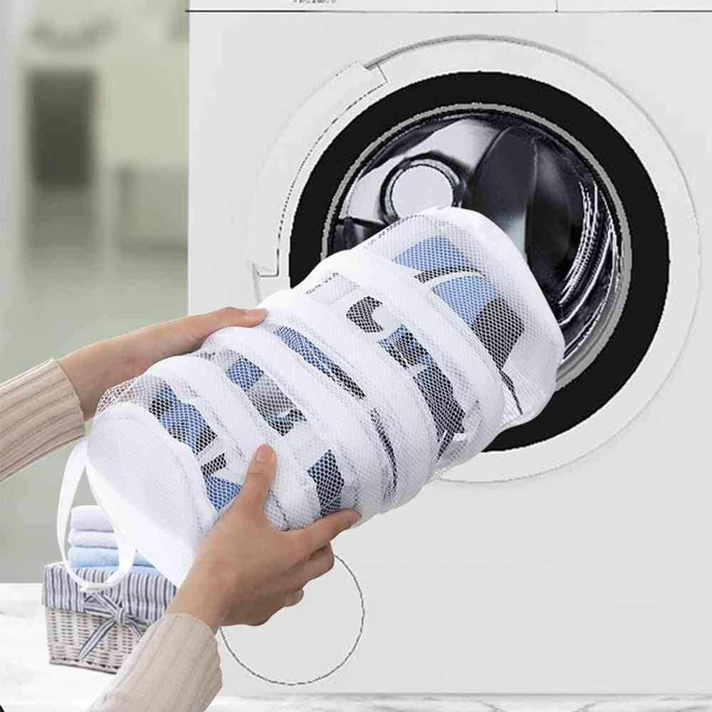 Shoes Washing Dry Sneaker Mesh Laundry Bags