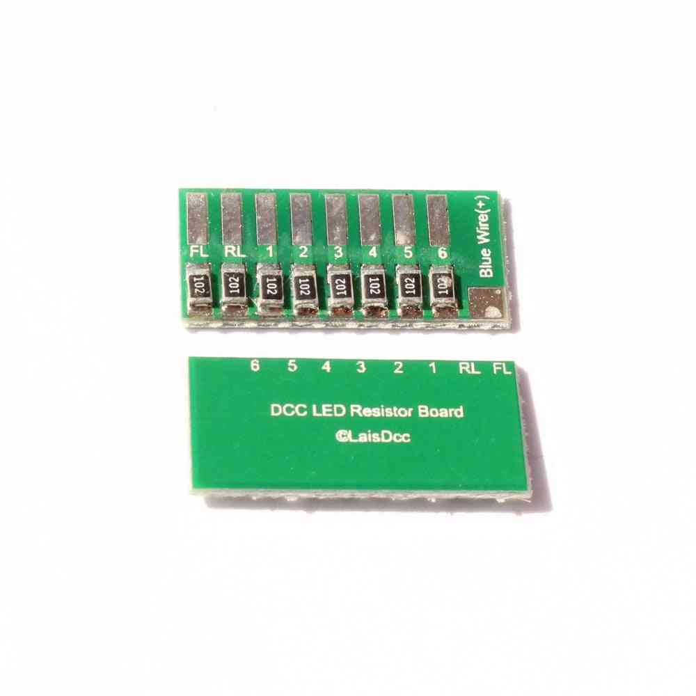 Dcc Led Resistor Board