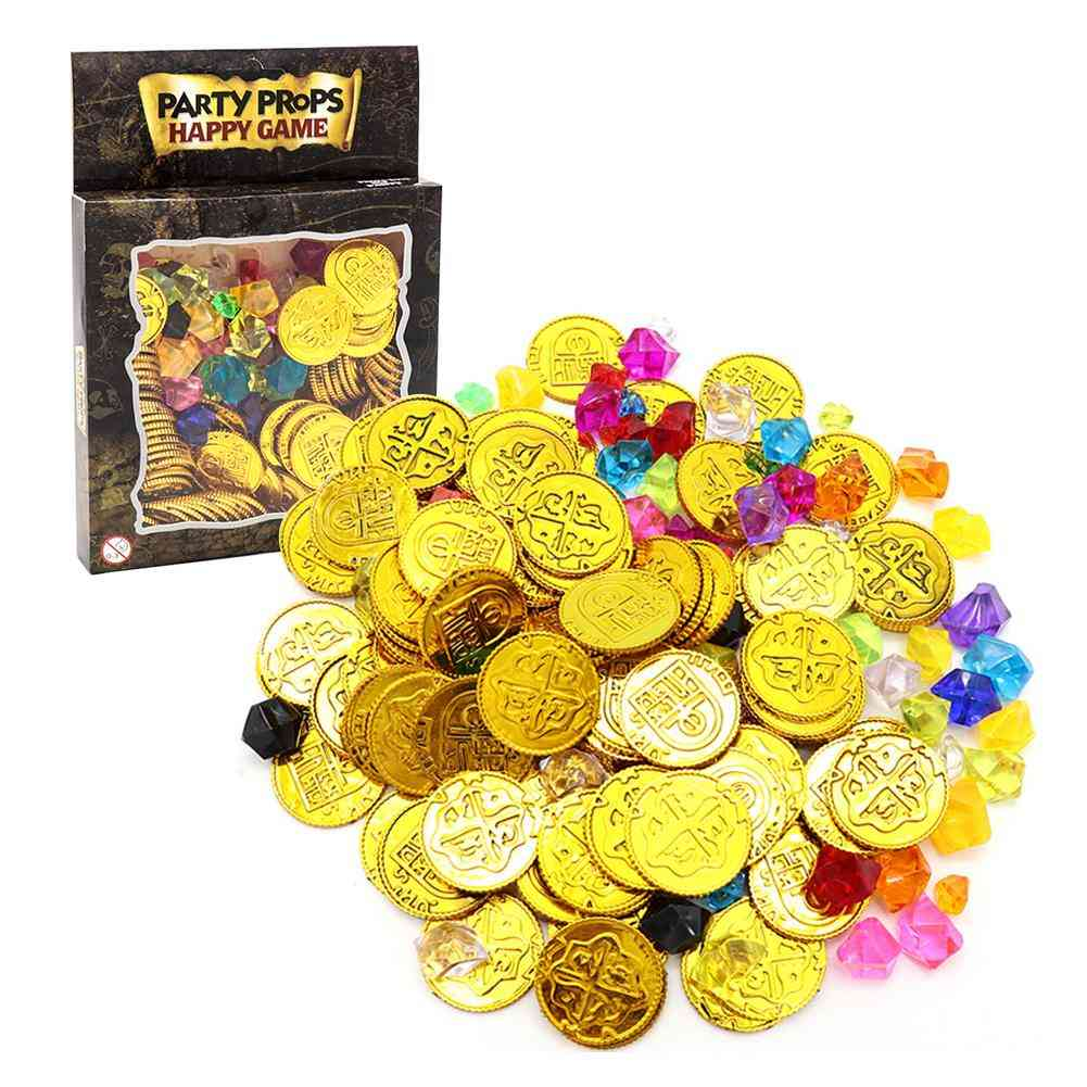 Simulation Promotions- Lottery Props, Gold Coins For (multicolor)