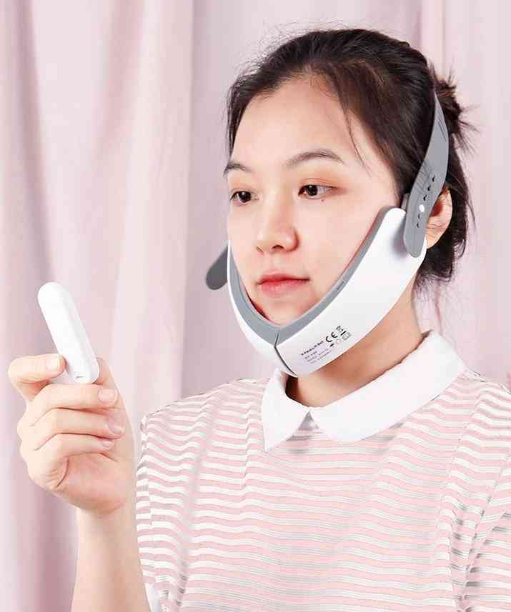 Ems Facial Slimming, Vibration Massage, V-face Lifting, Beauty Device (usb-with Box)