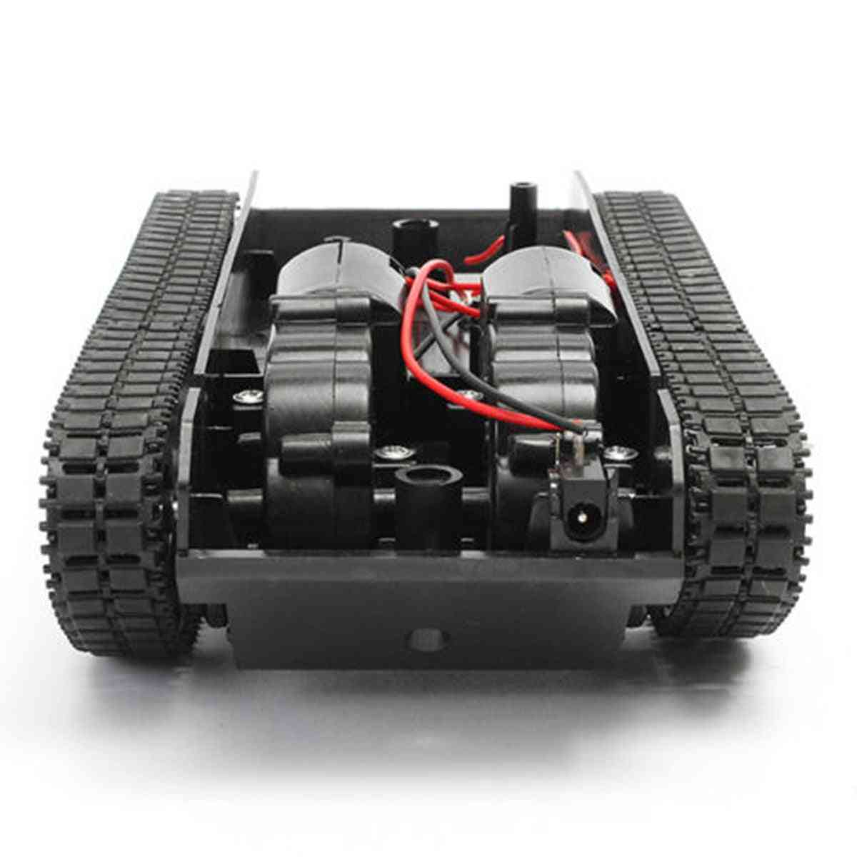 Smart Robot Tank, Car Chassis Kit- Rubber Track Robot Toy
