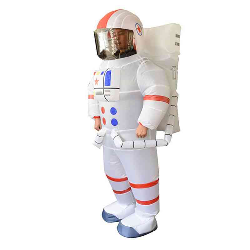 Astronaut Spaceman Inflatable Chub-suit Costume / Jumpsuit Cosplay