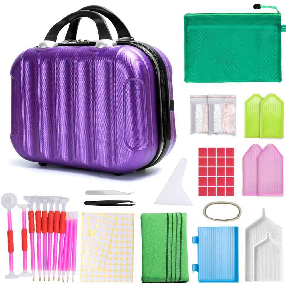 Double-layer Zipper, Storage Carrying Bag Accessories