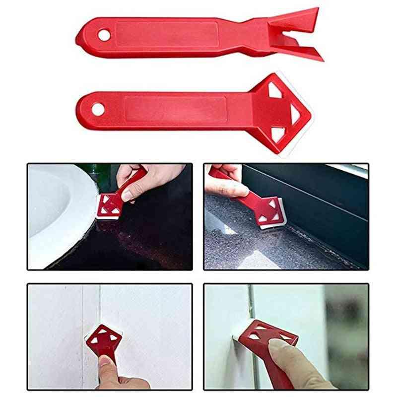 Silicone Glass Cement Scraper, Sealant Remover Tool Kit
