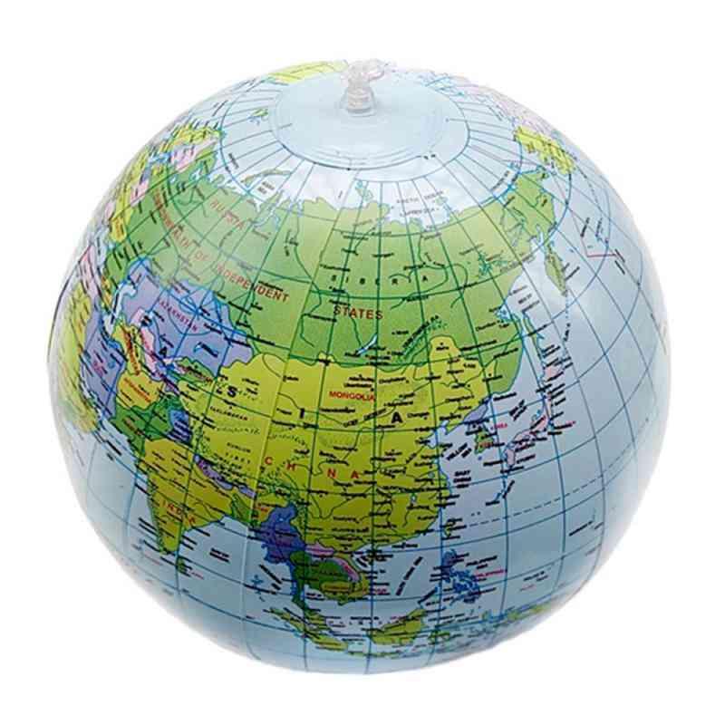 Inflatable World Globe Map Ball