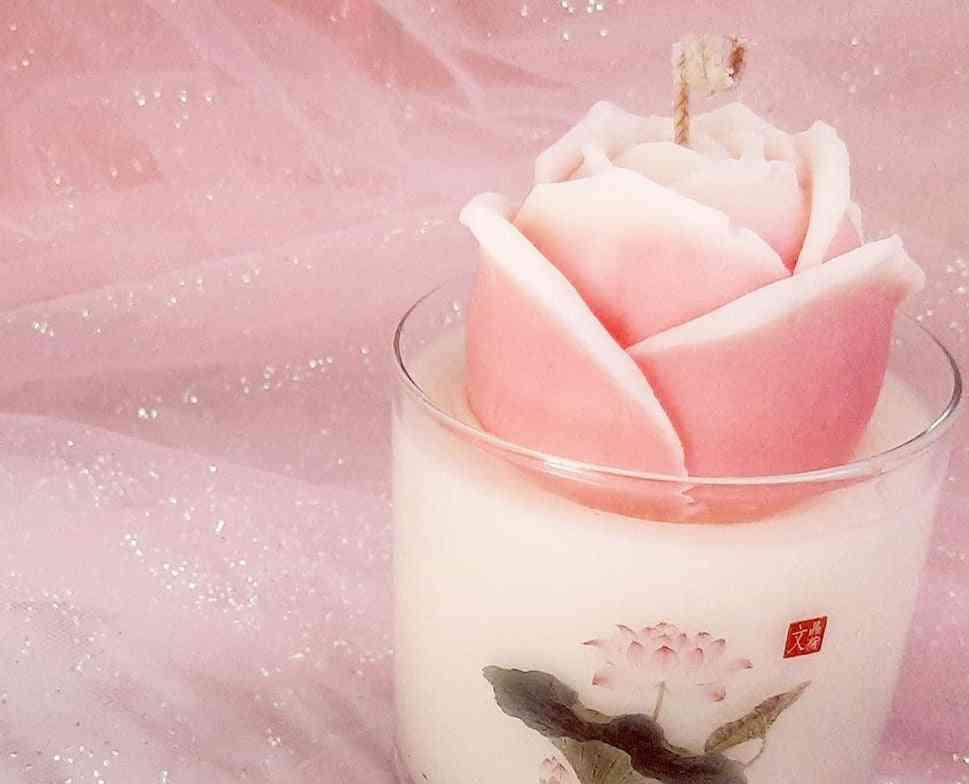 Minhwa Rose - Fragrance Oil Candle