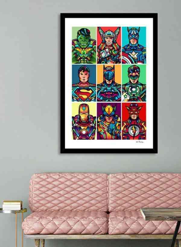 Super Pop Frame Painting