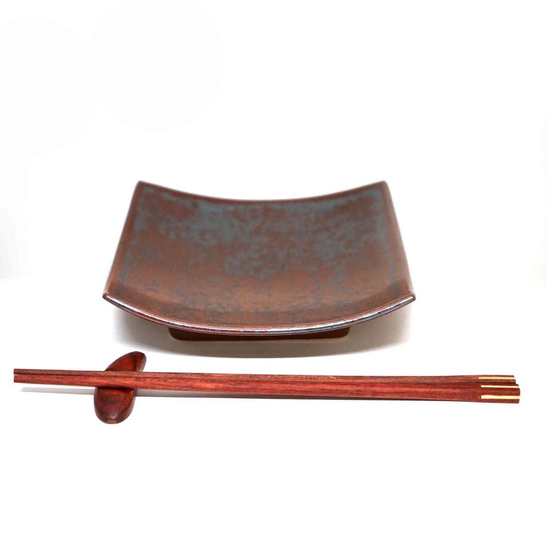 Rustic Effect Plate Set