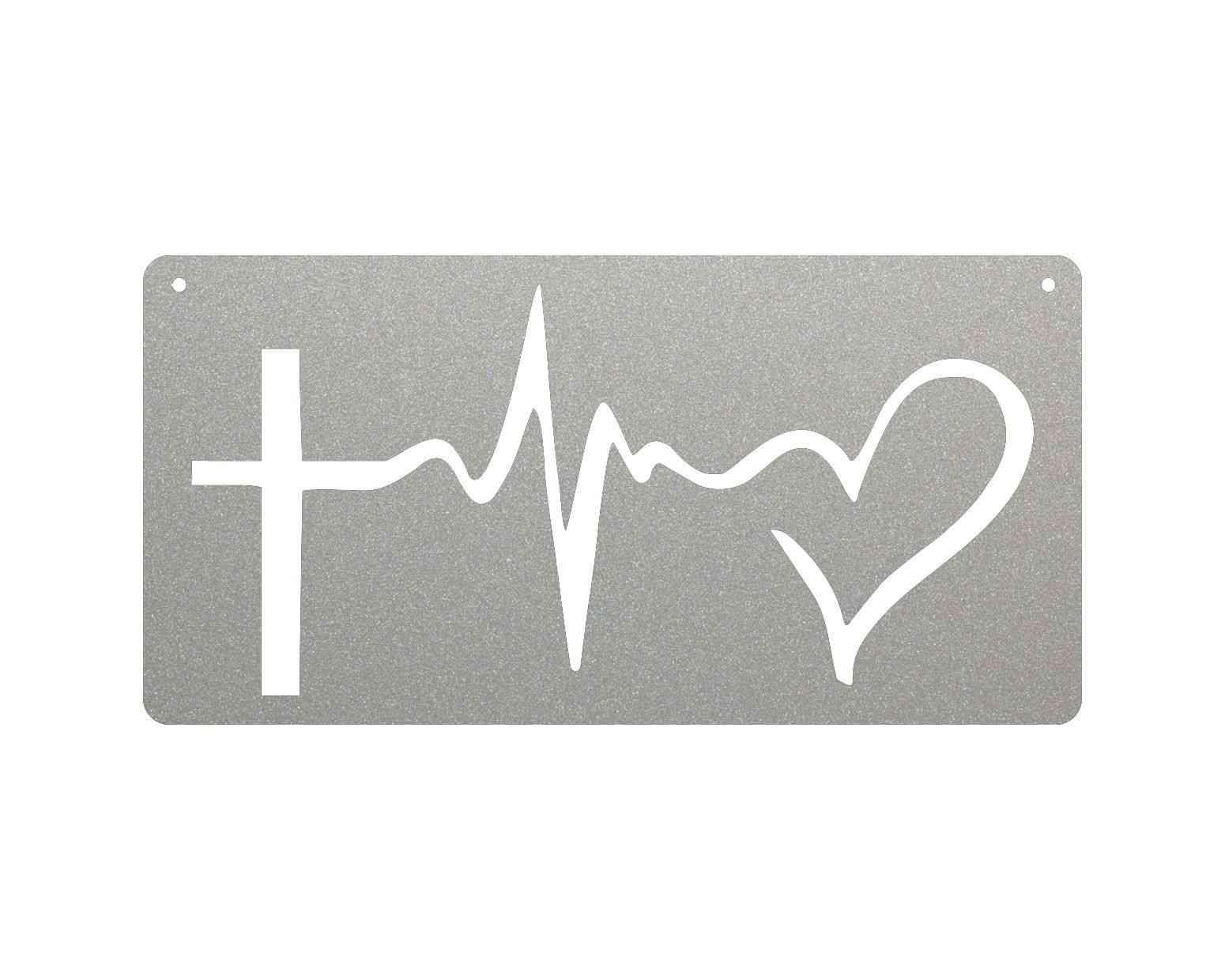 Faith, Hope, Love - Metal Sign