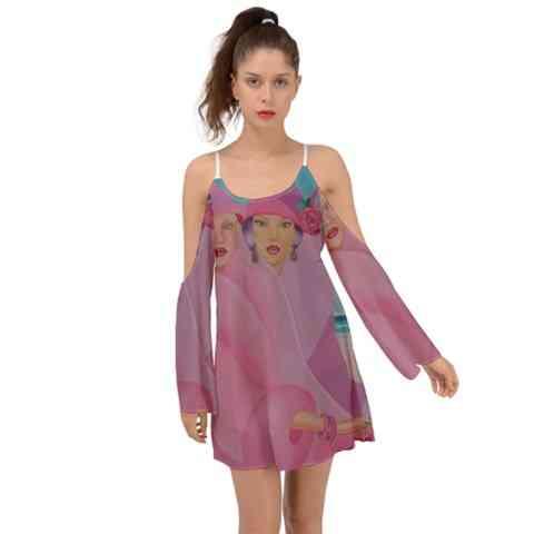 Palm Beach - Womens Boho Dress
