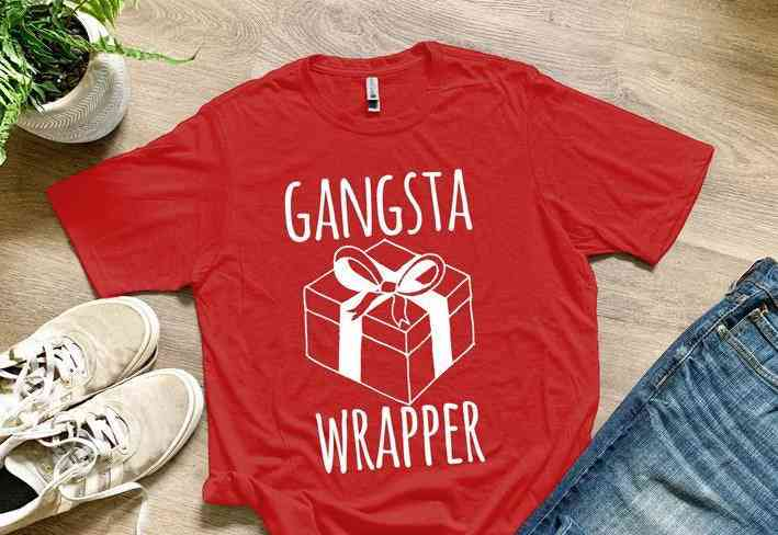 Gangsta Wrapper - T-shirts For Men