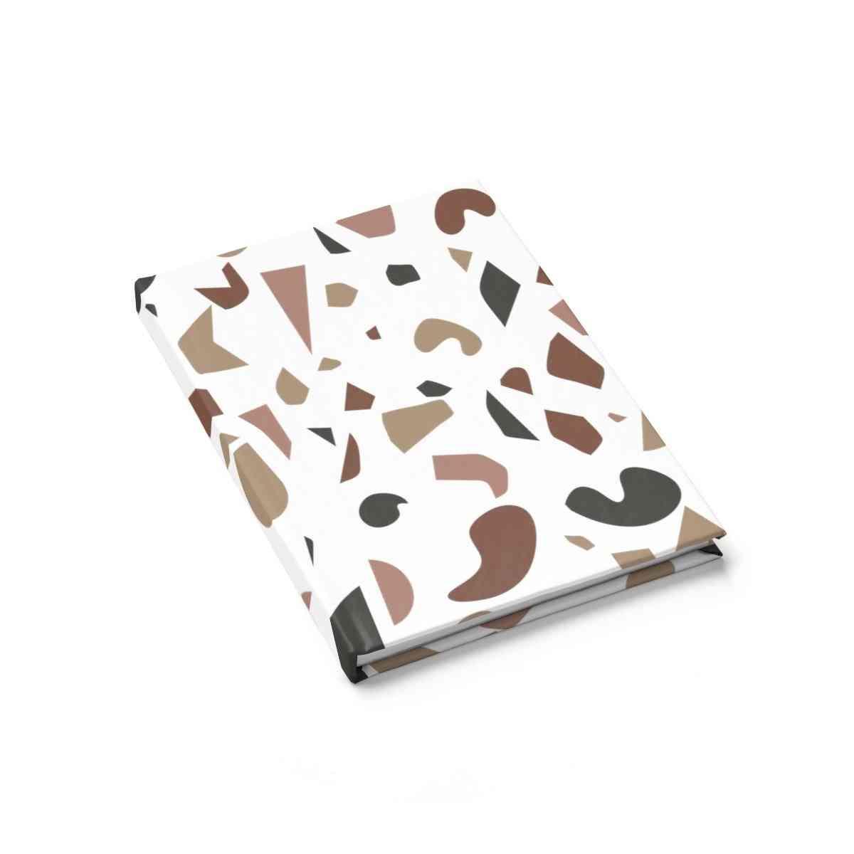 Brown Terrazzo Journal - Ruled Line