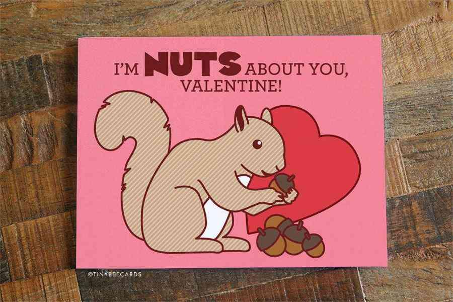 Cute Valentine Card -