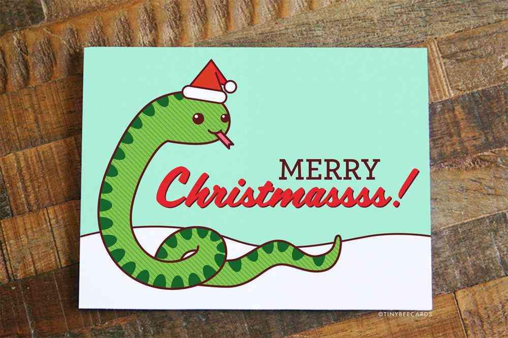 Cute Christmas Card -