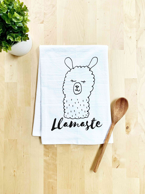 Llamaste Dish Towel