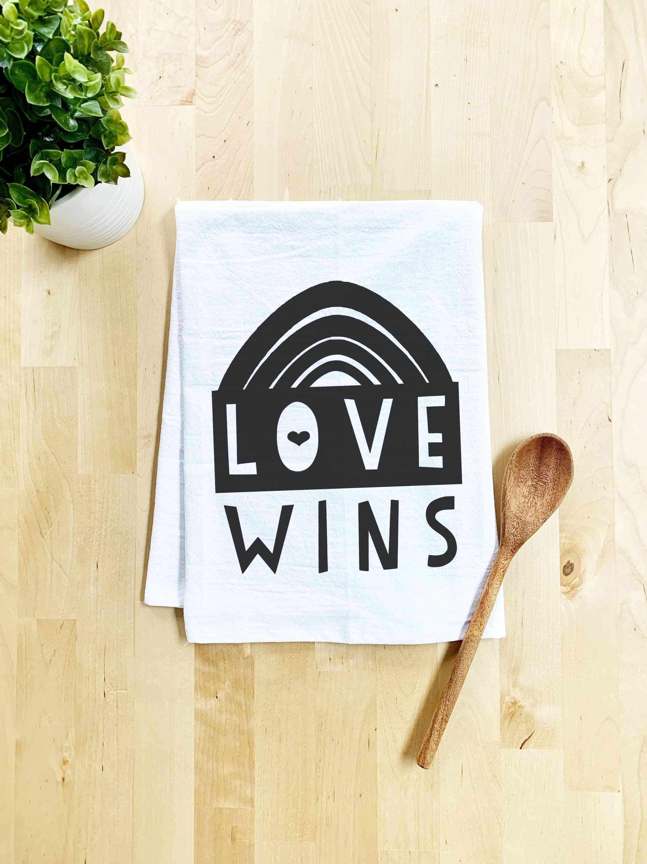Love Wins Dish Towel