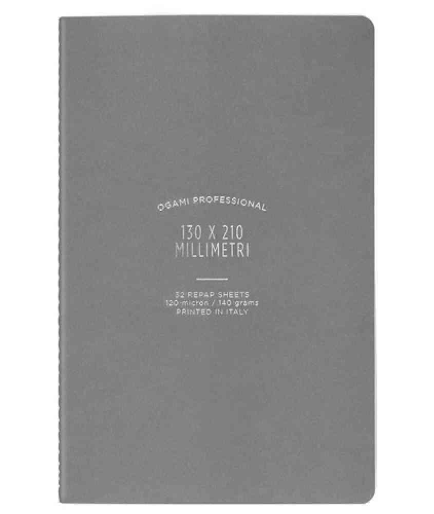 Ogami Grey - Notebook Made Using Repap