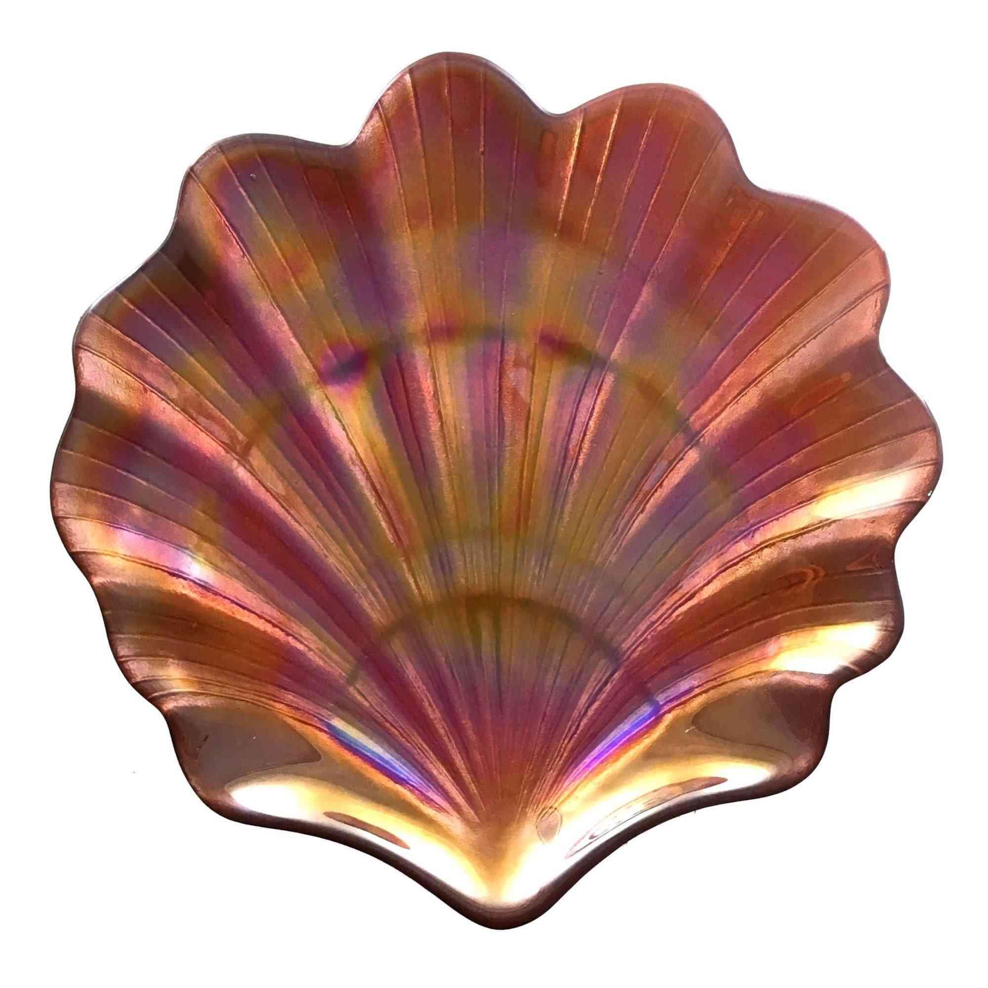 Scallop Shell Copper 8