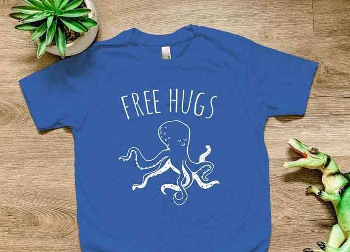 Free Hugs Kids Shirts